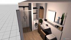 Raumgestaltung bad hgw in der Kategorie Badezimmer