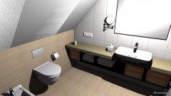 Raumgestaltung Bad im DG in der Kategorie Badezimmer