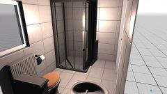Raumgestaltung Bad Janina und Tobias in der Kategorie Badezimmer