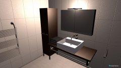 Raumgestaltung BAD Keller umgebauter Zustand in der Kategorie Badezimmer