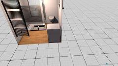 Raumgestaltung Bad Keller in der Kategorie Badezimmer
