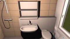 Raumgestaltung bad klein ohne bd in der Kategorie Badezimmer