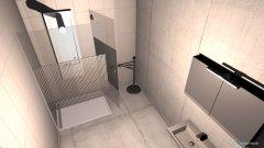 Raumgestaltung Bad klein vor Durchbruch in der Kategorie Badezimmer