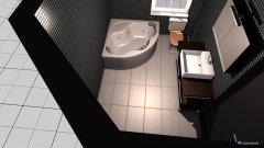 Raumgestaltung Bad Minimal Maximal in der Kategorie Badezimmer