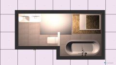 Raumgestaltung bad misa in der Kategorie Badezimmer
