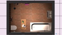 Raumgestaltung Bad neu V1 in der Kategorie Badezimmer