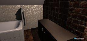Raumgestaltung bad neu in der Kategorie Badezimmer