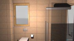 Raumgestaltung Bad neue Wohnung  in der Kategorie Badezimmer