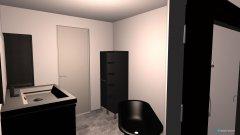 Raumgestaltung Bad Neugestaltung Duschwand in der Kategorie Badezimmer