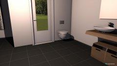 Raumgestaltung Bad Nische Dusche in der Kategorie Badezimmer