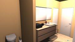 Raumgestaltung Bad oben ansicht 2 in der Kategorie Badezimmer