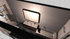 Raumgestaltung Bad oben idee in der Kategorie Badezimmer