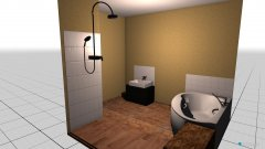 Raumgestaltung Bad oben mai in der Kategorie Badezimmer