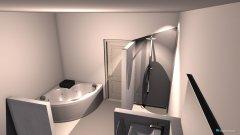 Raumgestaltung Bad-oben in der Kategorie Badezimmer