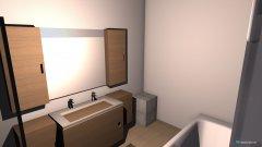 Raumgestaltung Bad OG 4 in der Kategorie Badezimmer