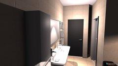 Raumgestaltung BAD OG mit Sauna in der Kategorie Badezimmer
