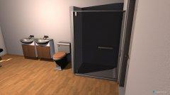 Raumgestaltung Bad Originalmasße in der Kategorie Badezimmer