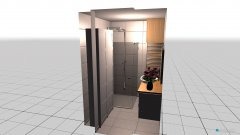 Raumgestaltung Bad Plüdd in der Kategorie Badezimmer