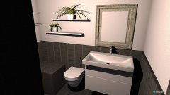 Raumgestaltung Bad Privat in der Kategorie Badezimmer