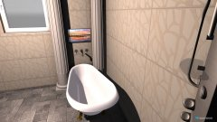 Raumgestaltung Bad Toskanisch in der Kategorie Badezimmer