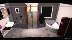 Raumgestaltung Bad umgebaut in der Kategorie Badezimmer