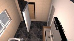 Raumgestaltung Bad Variante1 in der Kategorie Badezimmer