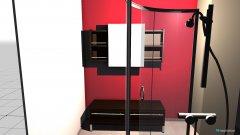 Raumgestaltung Bad Version 1 in der Kategorie Badezimmer