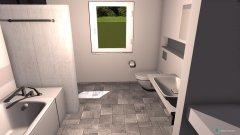 Raumgestaltung Bad Version 5 in der Kategorie Badezimmer