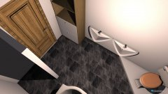 Raumgestaltung Bad Versuch 1 in der Kategorie Badezimmer