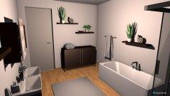 Raumgestaltung Bad Vorschlag in der Kategorie Badezimmer