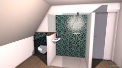 Raumgestaltung Bad Wand hoch in der Kategorie Badezimmer