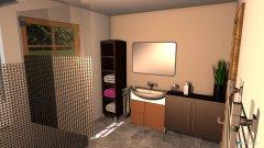 Raumgestaltung Bad+WC EG in der Kategorie Badezimmer
