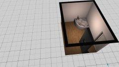 Raumgestaltung Bad Wille in der Kategorie Badezimmer
