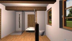 Raumgestaltung Bad - Wohnhaus - OG in der Kategorie Badezimmer