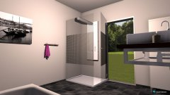 Raumgestaltung Bad wohnung 4 in der Kategorie Badezimmer