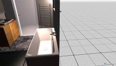 Raumgestaltung Bad1 mit Wanne in der Kategorie Badezimmer