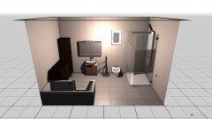 Raumgestaltung Bad in der Kategorie Badezimmer