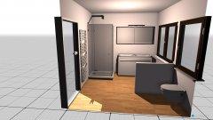 Raumgestaltung Bad_EG in der Kategorie Badezimmer