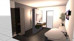Raumgestaltung Bad_Haupt in der Kategorie Badezimmer