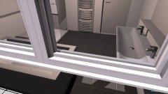Raumgestaltung Bad_OG in der Kategorie Badezimmer