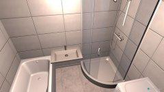 Raumgestaltung Badeimmer 1 in der Kategorie Badezimmer