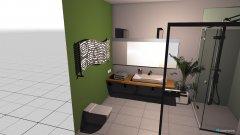 Raumgestaltung Badentwurf 3 in der Kategorie Badezimmer