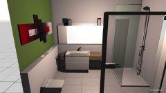 Raumgestaltung Badentwurf 4 in der Kategorie Badezimmer