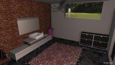 Raumgestaltung Badewimmer in der Kategorie Badezimmer