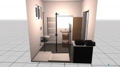 Raumgestaltung Badezimmer 1. Stock in der Kategorie Badezimmer