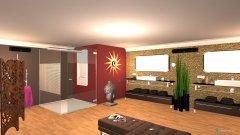 Raumgestaltung Badezimmer 65qm luxury in der Kategorie Badezimmer