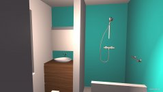 Raumgestaltung Badezimmer EG in der Kategorie Badezimmer