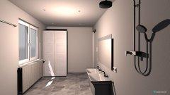 Raumgestaltung Badezimmer Eltern in der Kategorie Badezimmer