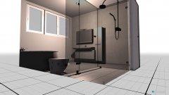 Raumgestaltung Badezimmer Entwurf 1 in der Kategorie Badezimmer
