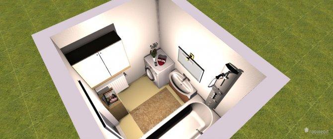 Raumgestaltung Badezimmer Entwurf in der Kategorie Badezimmer